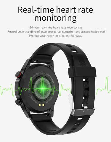 E12 Smart Watch have heart time monitoring