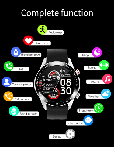 E12 Smart Watch has many work modes