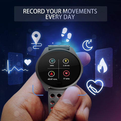 Pingko smart watch daily workout monitoring