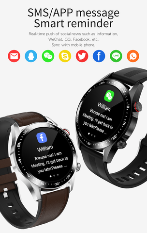 E12 Smart Watch is convenient to answer the phone