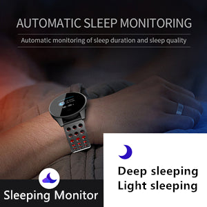 Pingko smart watch with automatic sleep monitoring