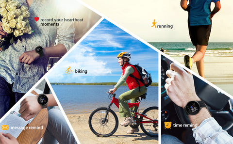 active life with Pingko smart watch