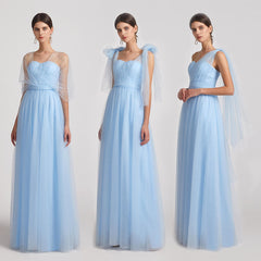 convertible tulle bridesmaid dresses