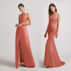 halter bridesmaid dresses