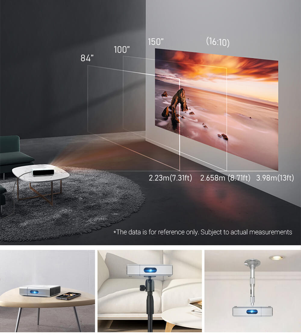 Toumei Smart Real 1080P Projector S2 Details 20