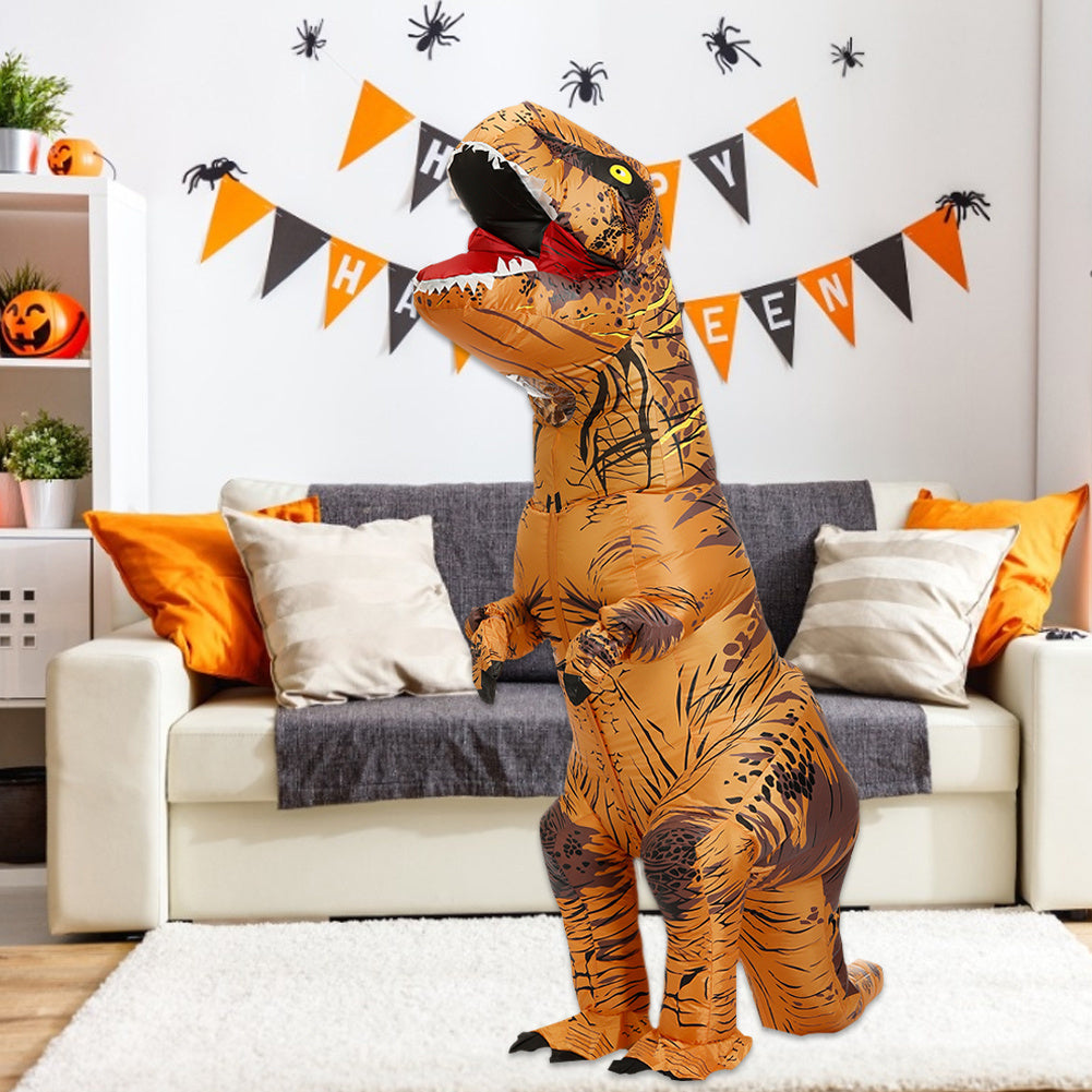 T-Rex Costume Inflatable Dinosaur Adult Cosplay Blowup Outfit