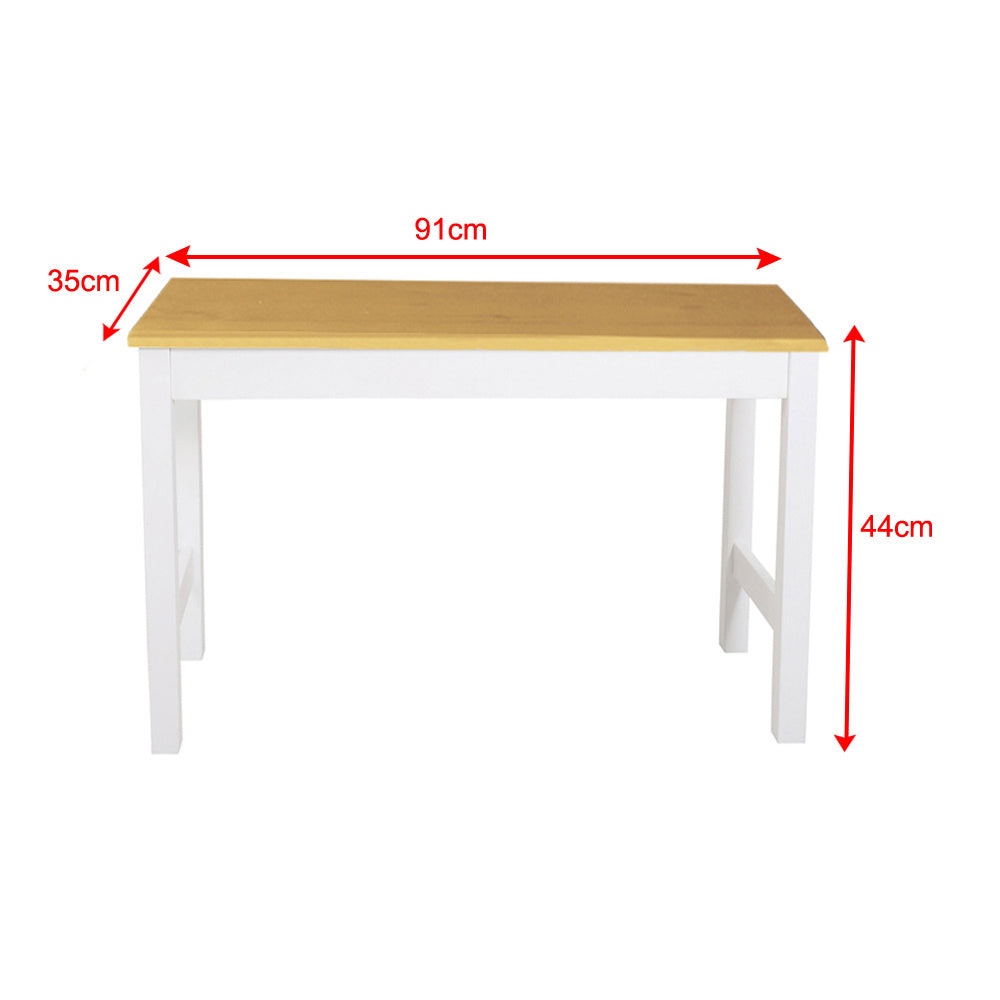 3FT  Solid Pine Wood Bench Bedside Stool Play Table Laptop Desk  Display Stand