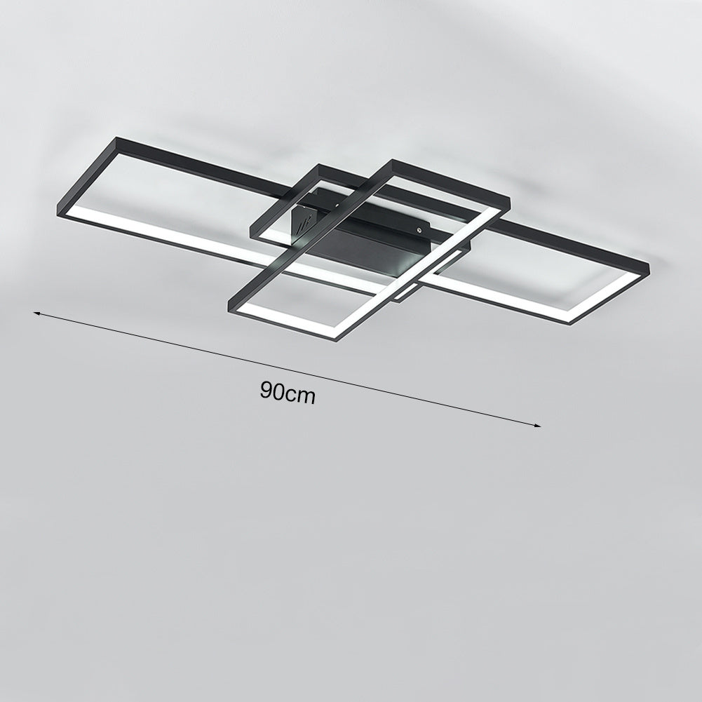 Rectangle Alumi LED Ceiling Light Flush Mount Lamp