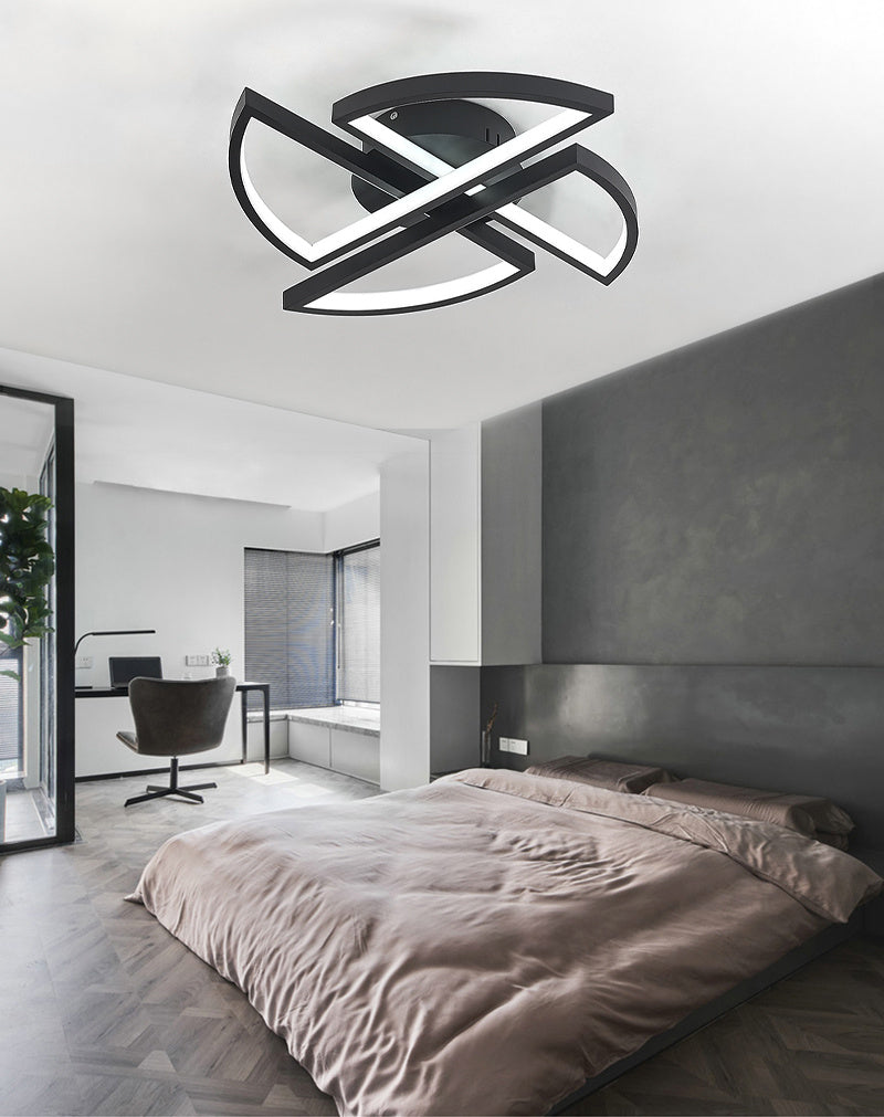 Chic Windmill Dimmable/Cool White LED Ceiling Light