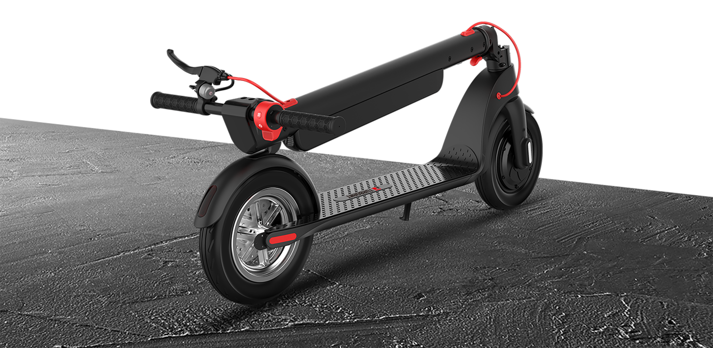 Turboant X7 Pro escooter commuter scooter with 10 ah replacement battery folding escooter