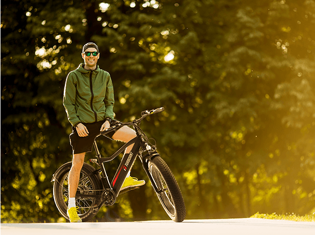 best electric fat tire bike from Turboant