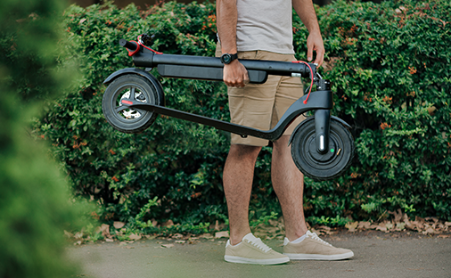 Turboant X7 Pro escooter commuter scooter with 10 ah replacement battery folding escooter light and sturdy