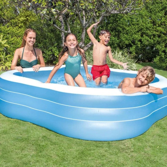 use inflatable swimming pool