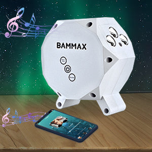 BAMMAX Night Light Projector for Party, Bedroom, Christmas Gift, Home Theater