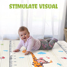 Educational While babies play in play mat