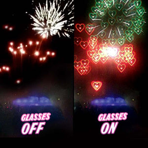 Heart Special Effect Glasses UV400 Protection - goodnessfind
