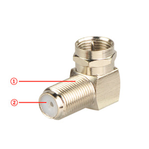 F-Type Coaxial RG6 Adapter