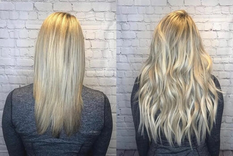 Increase the thickness of the hair