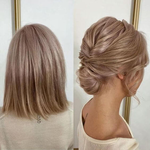 tape hair can change your styles