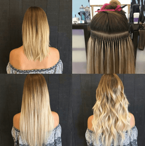 itip human hair extensions for women