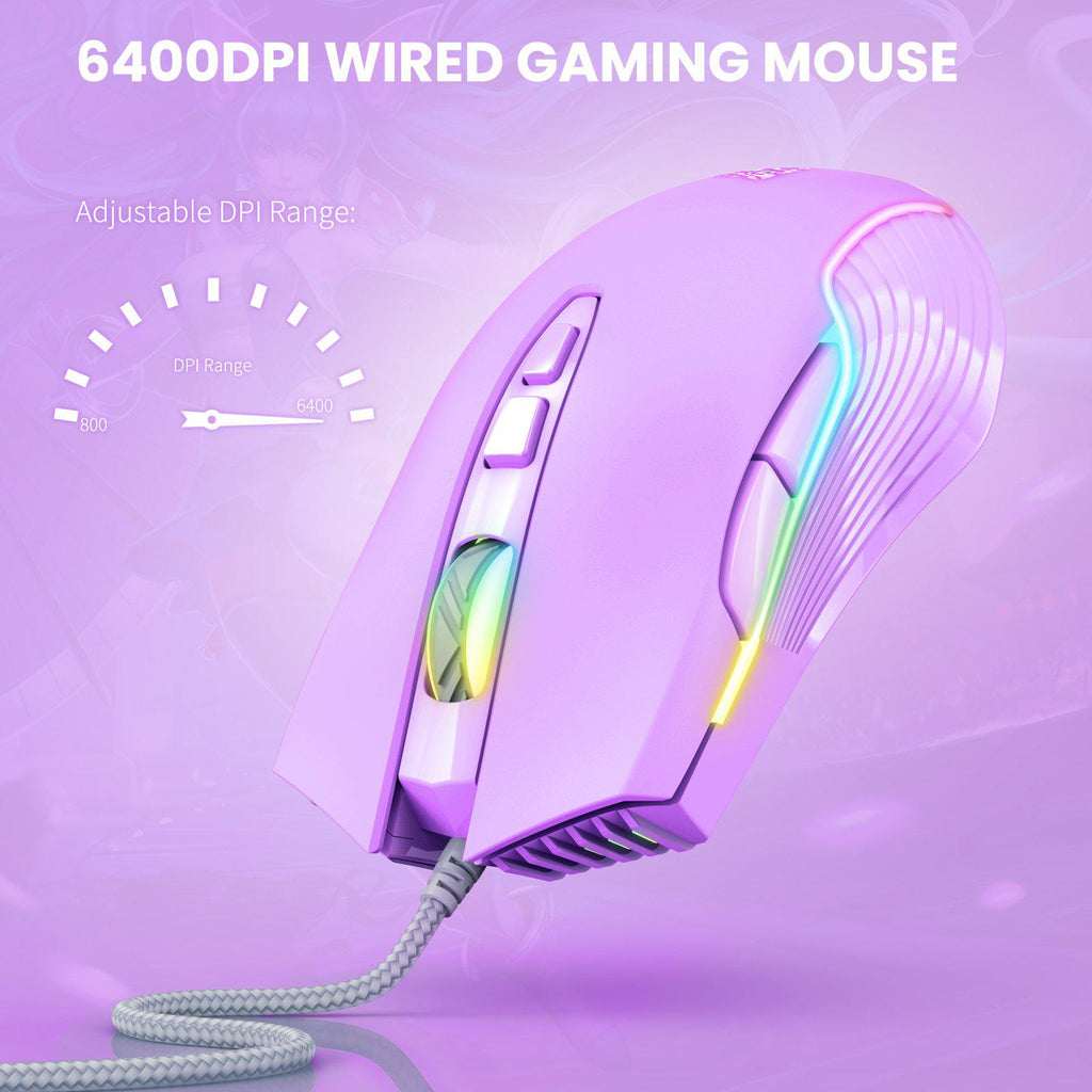 ONIKUMA CW905 Wired Gaming Mouse