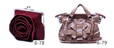 Decoration technology of three-dimensional pattern of luggage