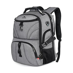 Matein TSA Anti Theft with Alarm Zipper Laptop Travel Backpack
