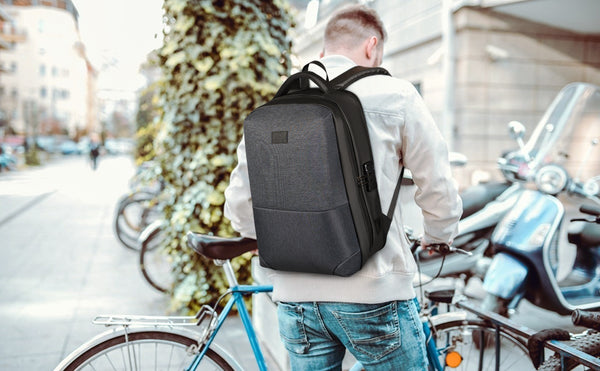 Matein Hard Shell Backpack|business backpack|anti theft backpack