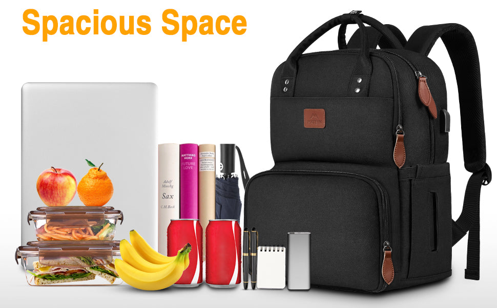 Matein Lunch Backpack for Women- lunch box backpack