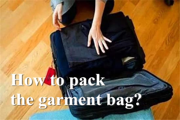 How to pack a suit garment bag?