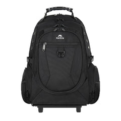 Matein Wheeled Backpack|Rolling Backpack for 15 inch Laptop