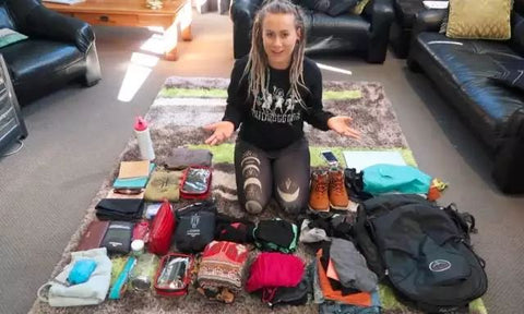 How to pack a hiking backpack for travel?
