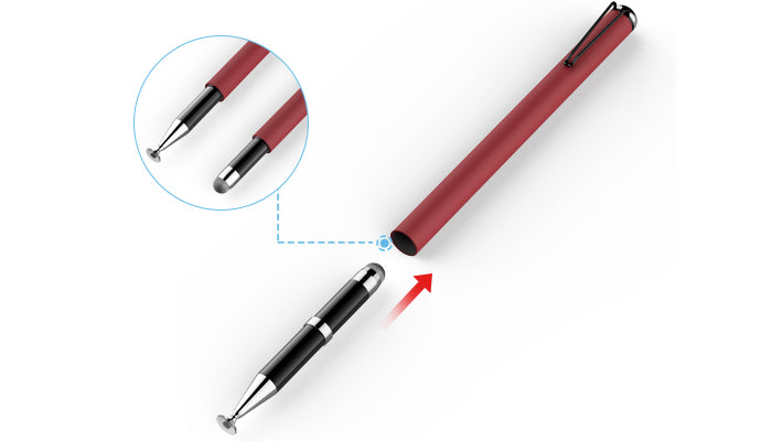 A brand new, hidden, switchable dual-tip design