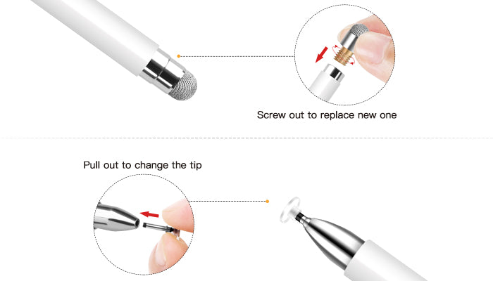 Replaceable Tips
