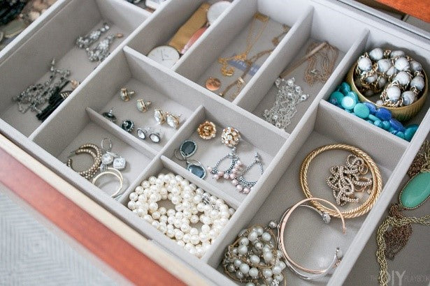 Jewelry drawer is a perfect jewelry storage solution