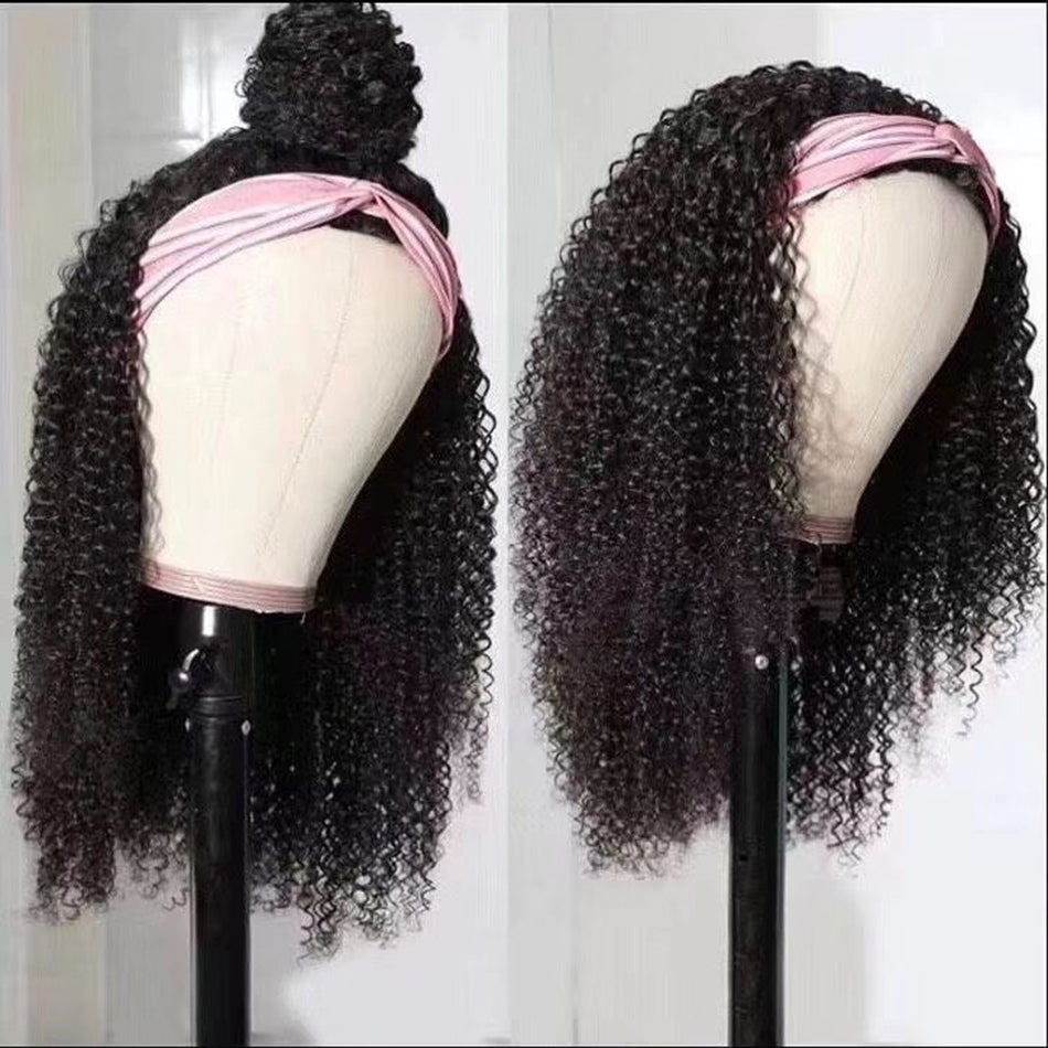 Tuneful Kinky Curly Human Hair Wigs For Women