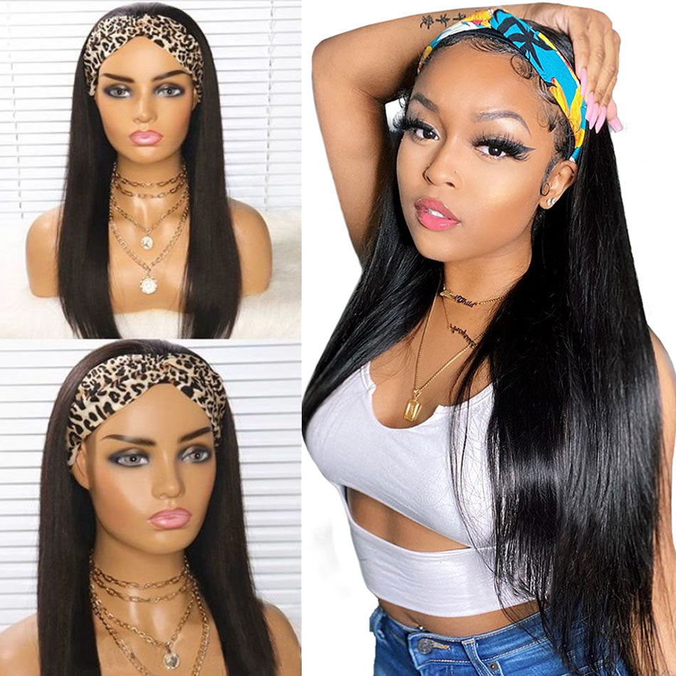 Straight Human Hair Wigs For Women