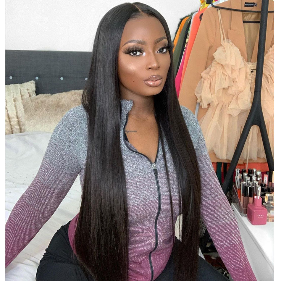 Straight Remy Human Hair Wigs