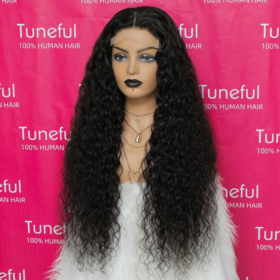 4x4 5x5 Water Wave  Wigs For Women