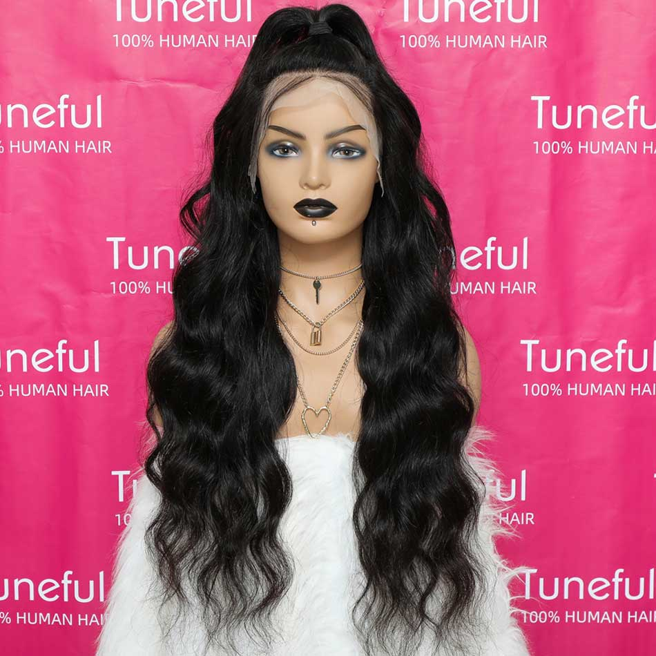 Body Wave Pre Plucked  Wigs For Women