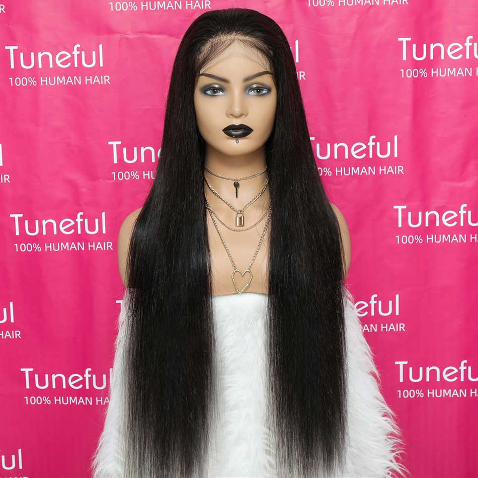 Wigs Malaysian Straight Remy Hair