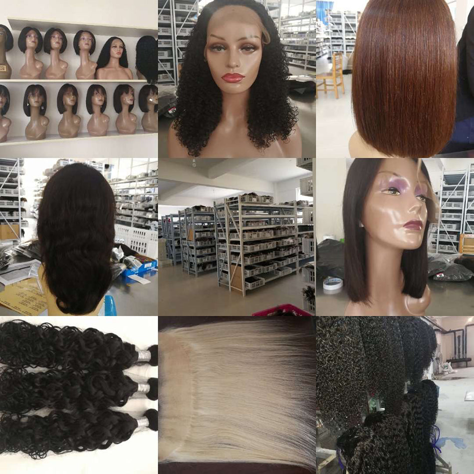 360 Straight Pre Plucked With Baby Hair Remy Human Hair Wigs For Women