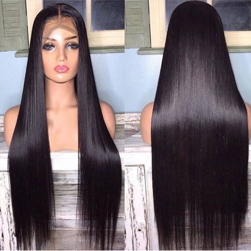 13x4 Lace Front Human Hair Wigs Straight Wigs For Women