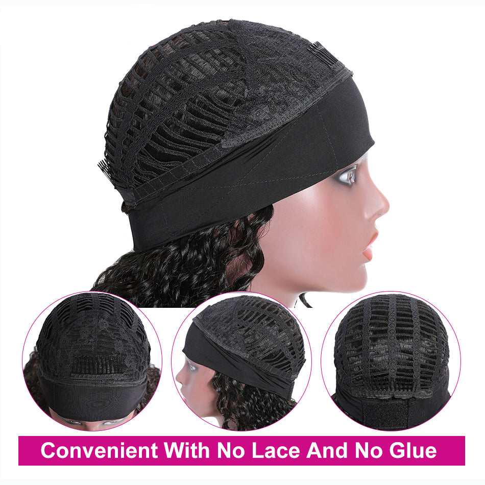 Tuneful Headband Wigs Human Hair Wigs