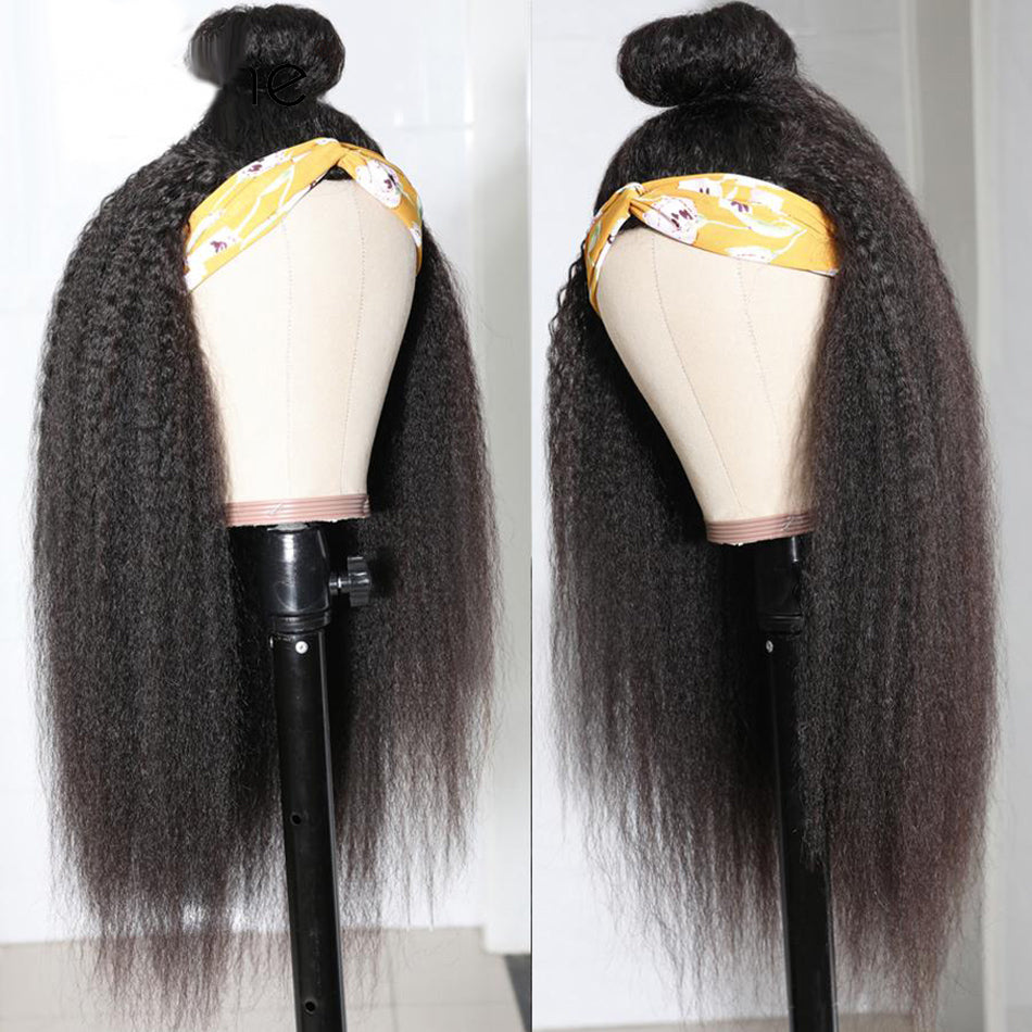 Tuneful Headband Wigs Human Hair Wigs Kinky straight For Women