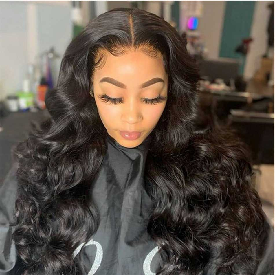 Body Wave Lace Frontal Wigs For Women