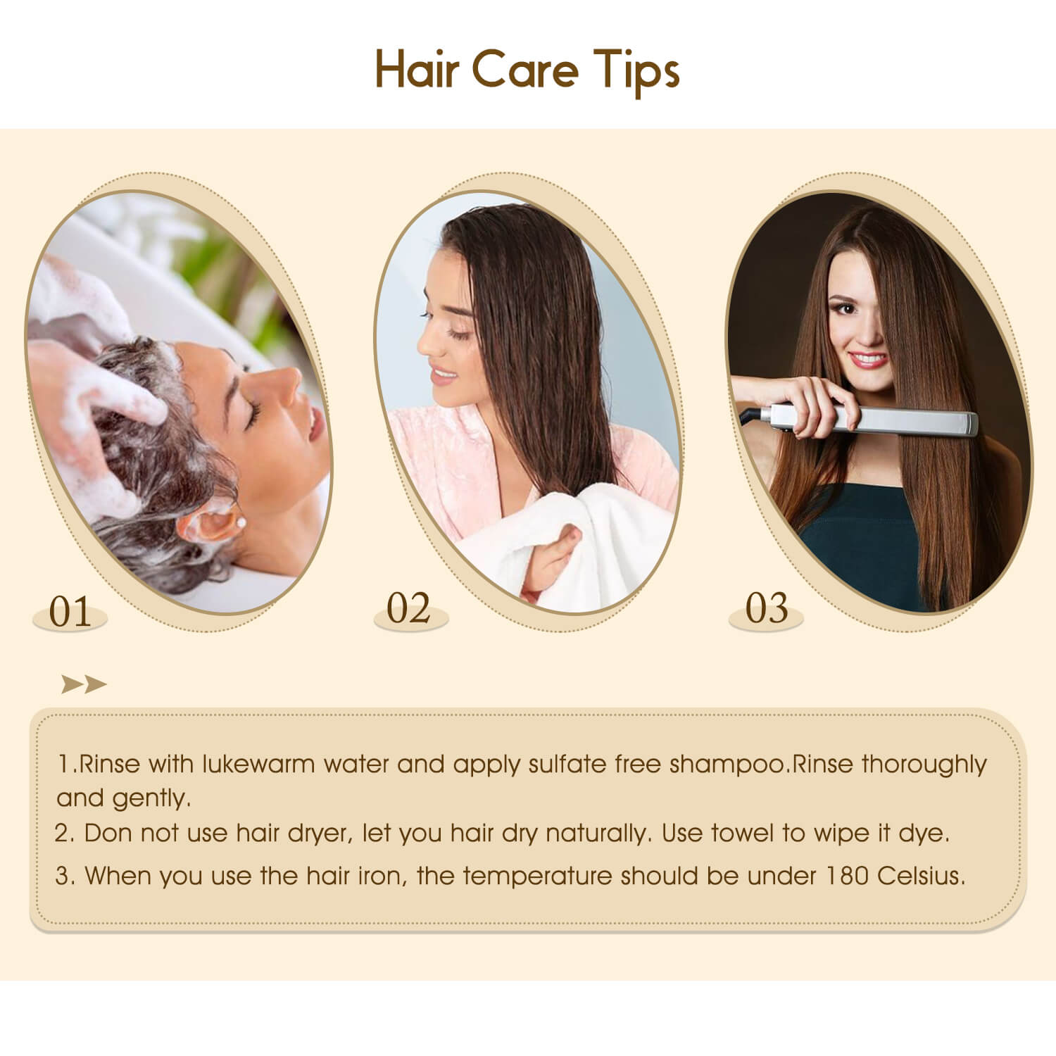 Virgin Clip in Hair Extensions Human Hair