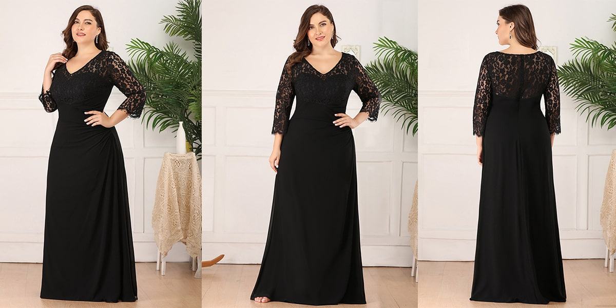 Elegant Plus Size Evening Gowns