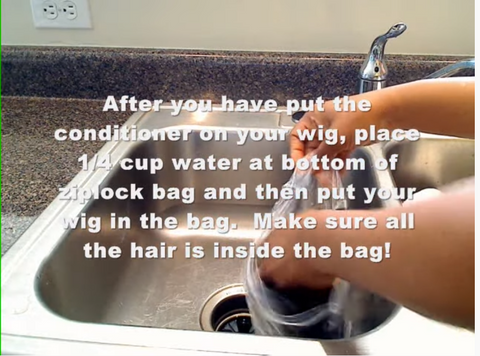 how to wash lace front human hair wigs
