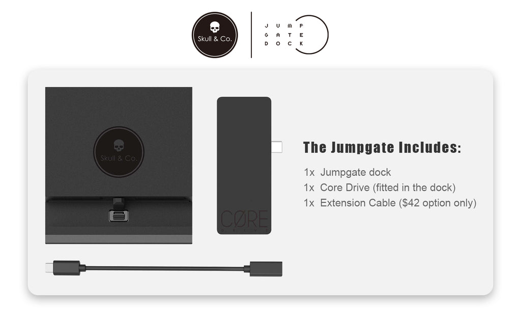 Jumpgate portable dock for Nintendo Switch